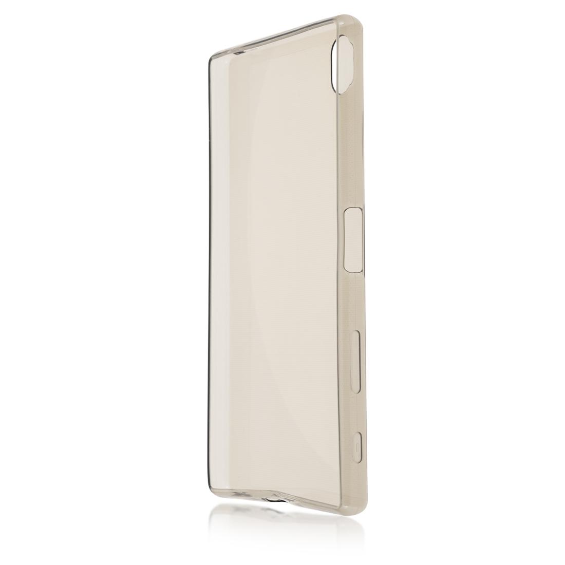 Силиконовый чехол Brosco для Sony Xperia Z5 Premium, черный