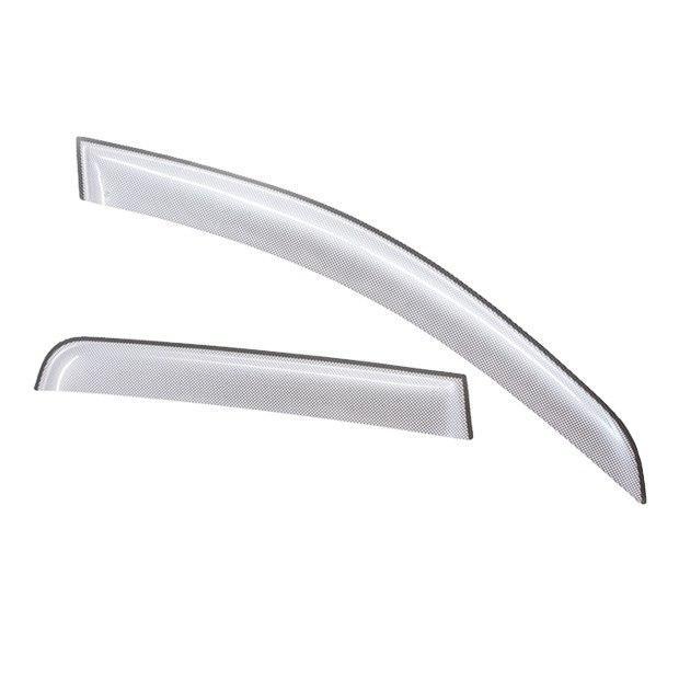 Дефлекторы на окна CA Plastic для Opel Zafira 2006-2011 серебристый