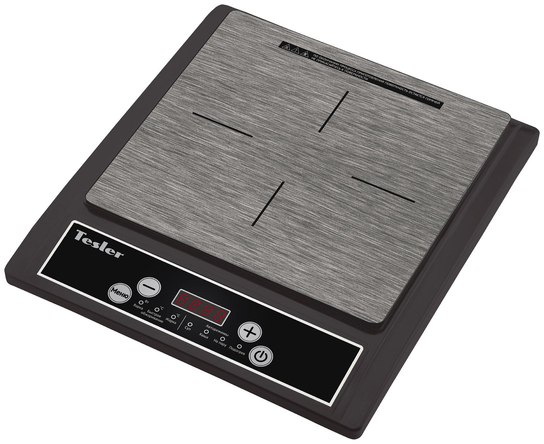 Настольная электрическая плитка Tesler PI 13 Black