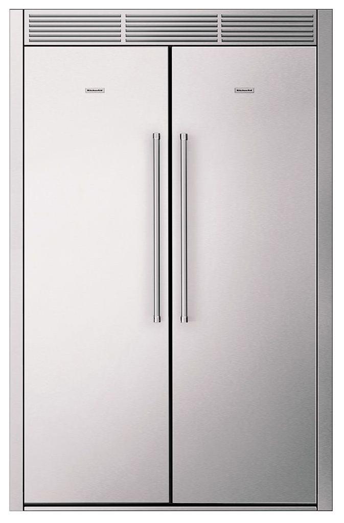 Встраиваемый холодильник KitchenAid KCBPX18120 Silver