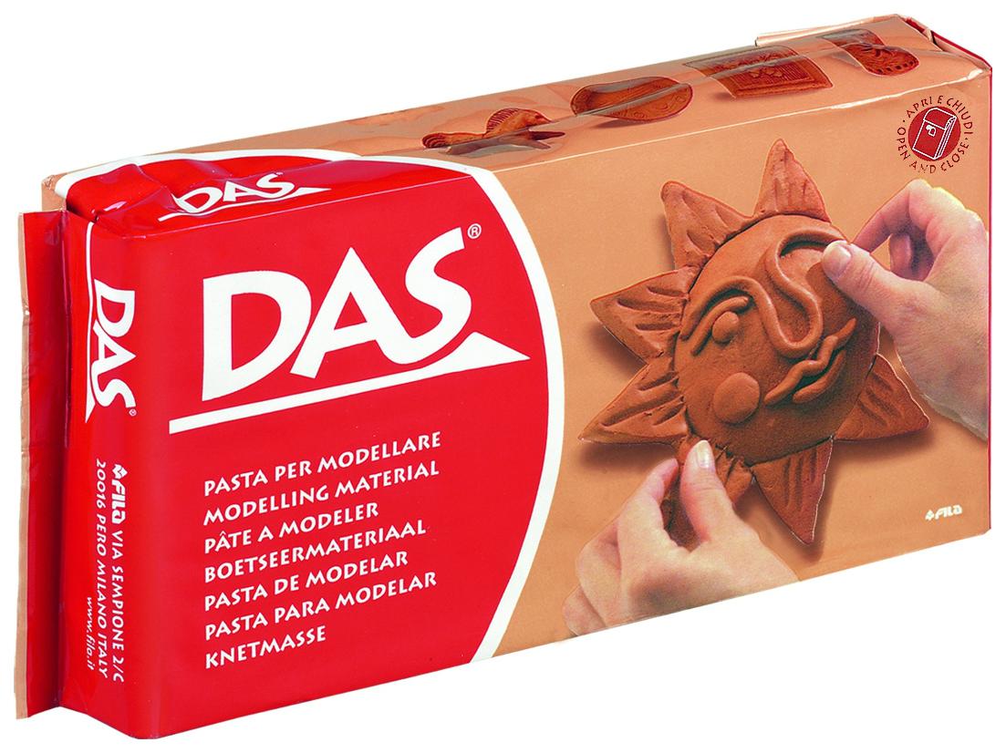 Паста для моделирования DAS 1000 гр, терракотовая, арт. 387600