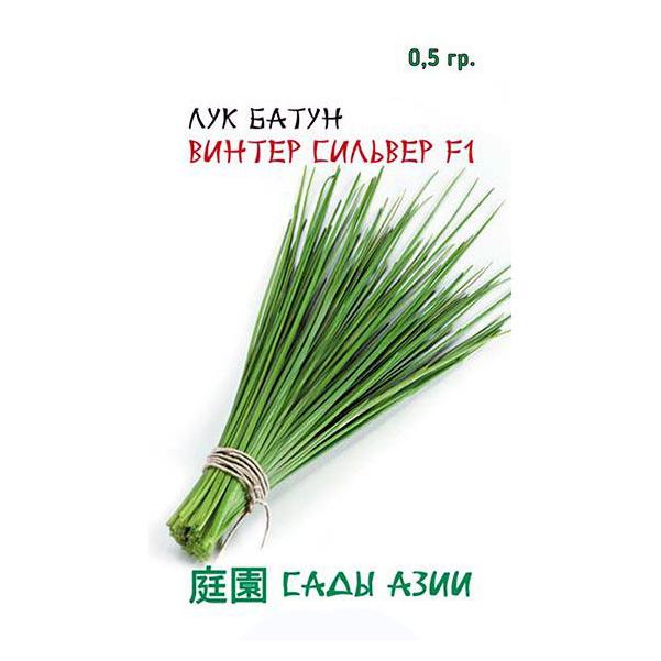 Семена Лук батун Винтер Сильвер F1, 0,5 г, Сады Азии