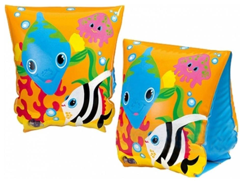 Надувные нарукавники Intex Веселые рыбки, в ассортименте фото