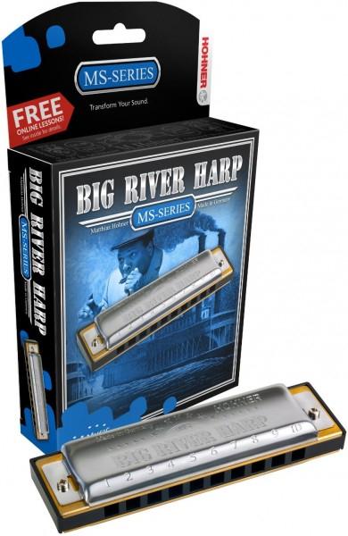 Губная гармоника диатоническая HOHNER BIG RIVER HARP 590/20 D