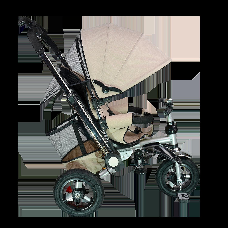 Купить Велосипед детский трехколёсный Farfello TSTX010 лён хаки арт.TSTX010/4, Детские велосипеды-коляски