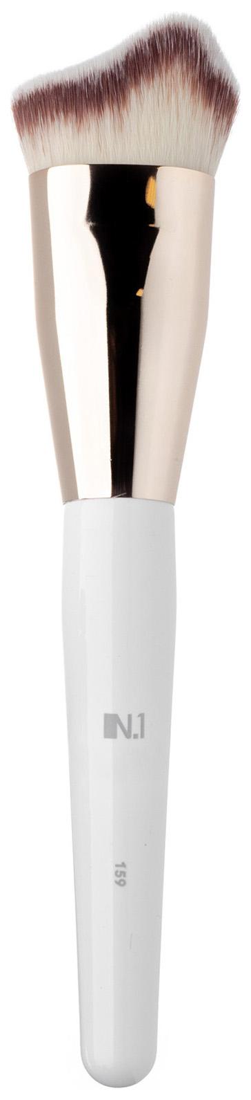 Кисть для макияжа N.1 Заостренная для контуринга лица из ворса таклон №159