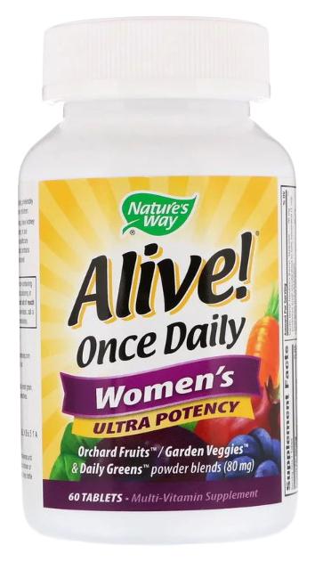 Купить Витаминный комплекс Nature's Way Alive! Once Daily Women's таблетки 60 шт.
