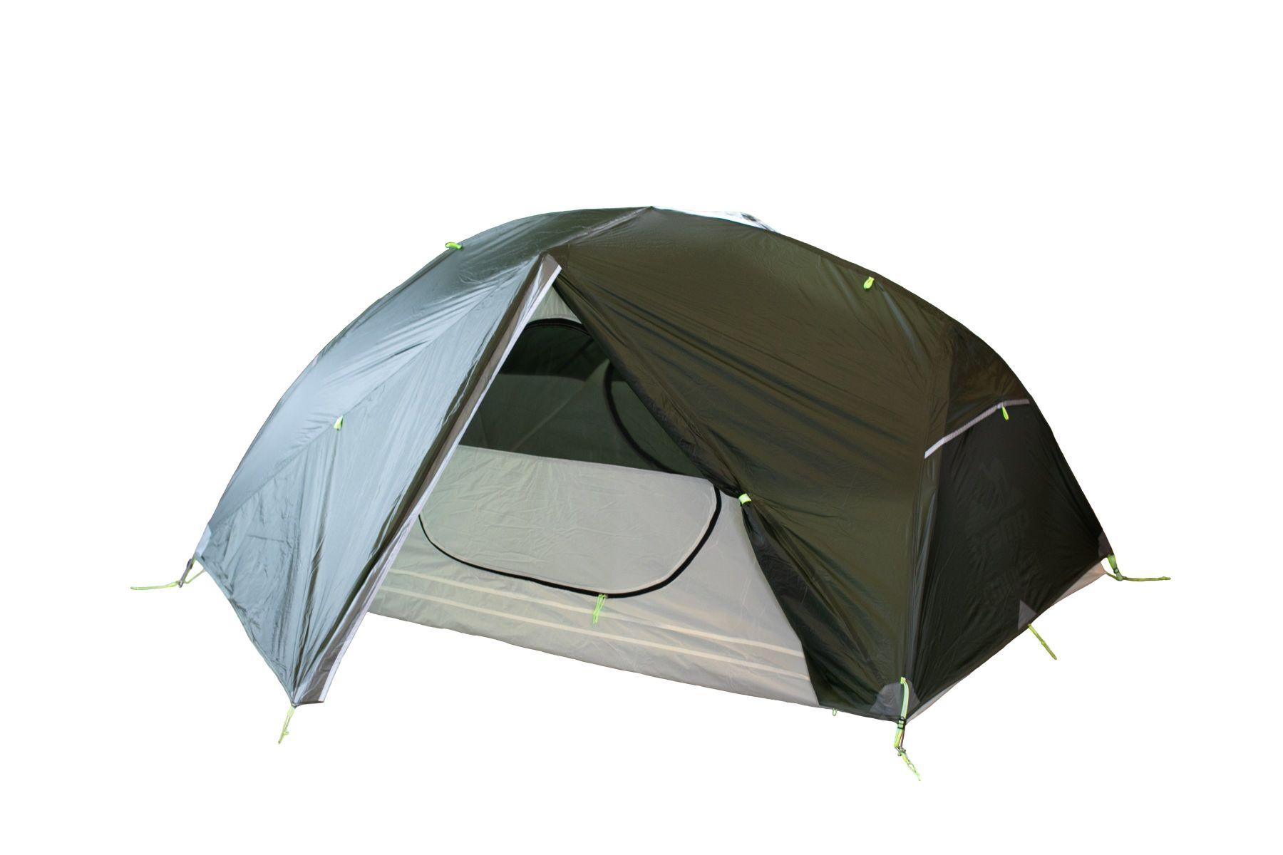 Палатка Tramp Cloud 2 Si dark green Цвет салатовый