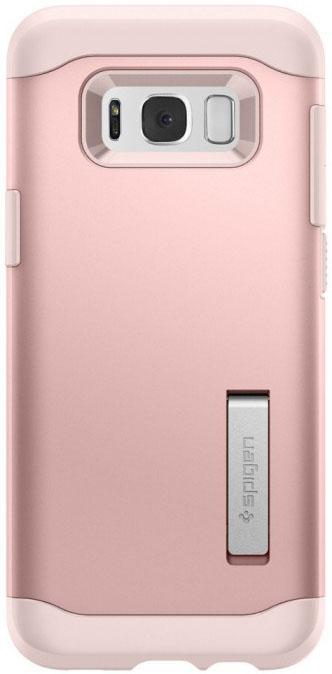 Чехол-накладка Spigen Slim Armor (571CS21439) для Samsung Galaxy S8 Plus (Rose Gold)