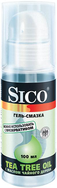 Купить Tea Tree Oil с маслом чайного дерева, Гель-смазка Sico Tea Tree Oil С маслом чайного дерева 100 мл