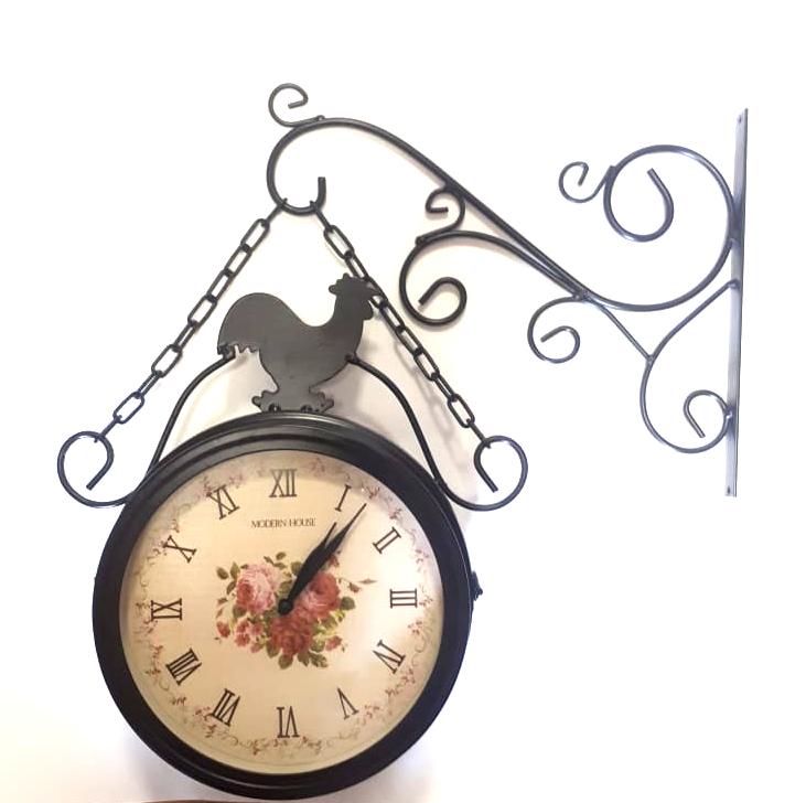 Часы Репка садовые двусторонние 20180011-20F