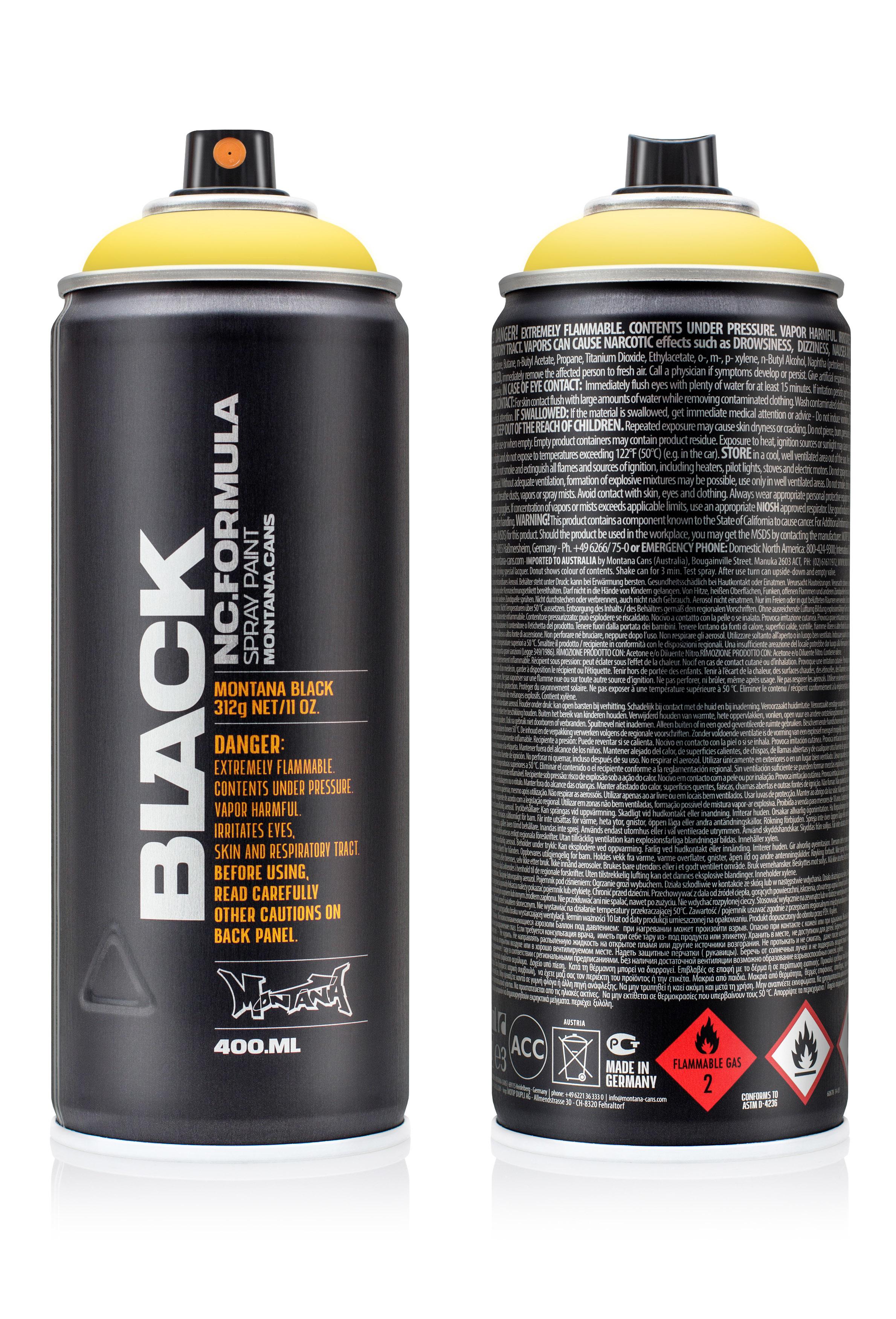 Аэрозольная краска Montana Black Easter yellow 400 мл