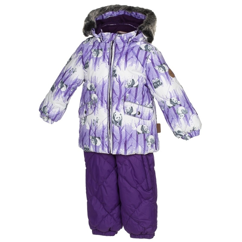 Комплект верхней одежды Huppa, цв. фиолетовый р. 80 Noelle