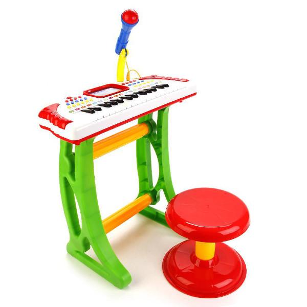 Детский синтезатор Baobab 3032A электронный на подставке.