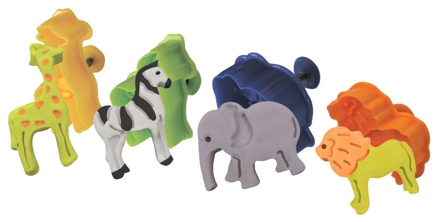 Набор для лепки из пластилина Волшебный мир Пластилин Plush Зоопарк PL02201812