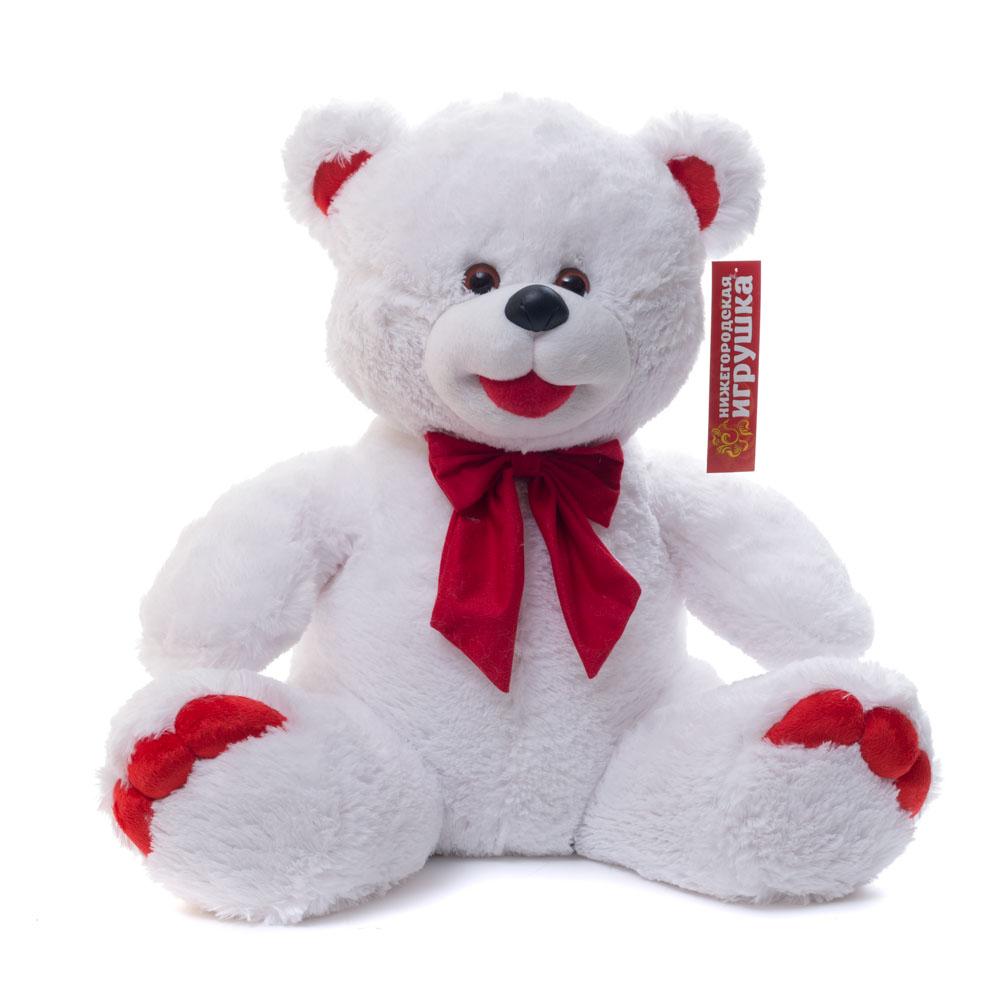 Купить Мягкая игрушка Медведь Нижегородский средний 55 см Нижегородская игрушка См-247-п-5, Мягкие игрушки животные
