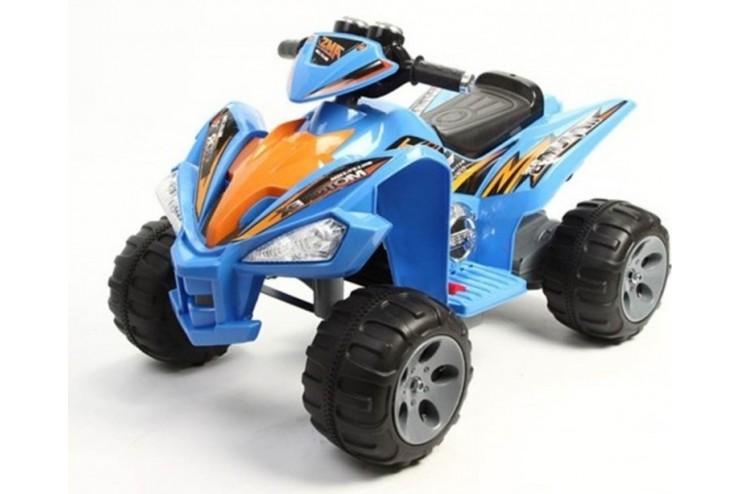 Купить Детский электромобиль квадроцикл на аккумуляторе Harleybella JS007-Blue, Электромобили