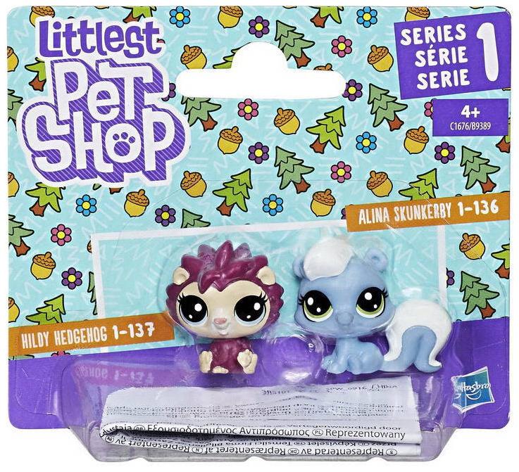 Игровой набор Hasbro Littlest Pet Shop 2 пета B9389EU4/B9389EUA