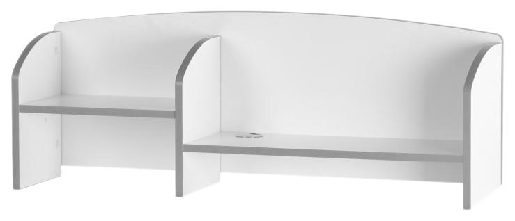 Надстройка FunDesk для парты Trovare Cabinet Серый