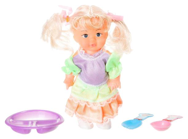 Кукла Lovely Keity с набором посуды, 15 см