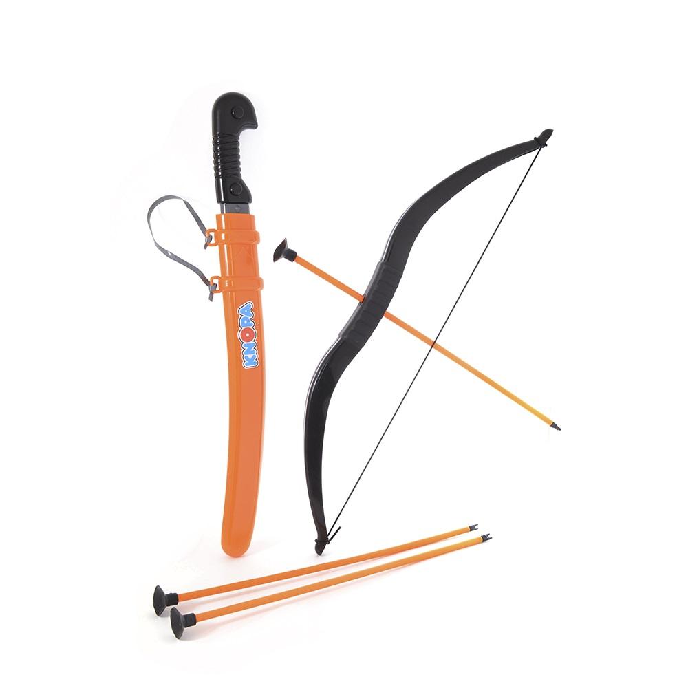 Купить Набор оружия Кочевник сабля, лук, 3 стрелы Knopa 87016, Луки со стрелами детские