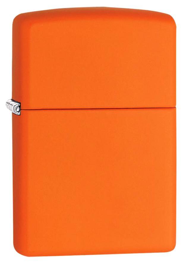 Зажигалка Zippo Classic 231 Orange Matte Orange Matte фото
