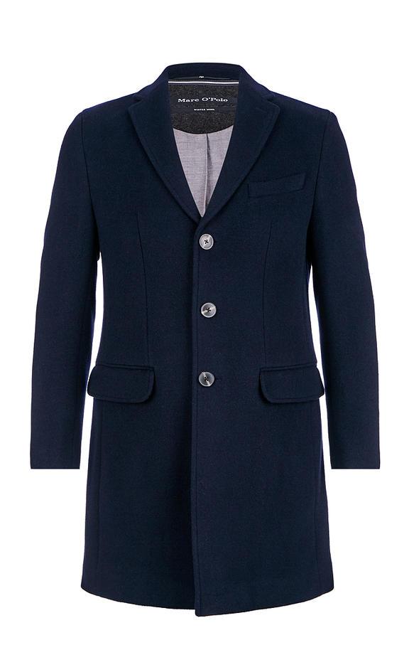 Пальто мужское Marc O'Polo 002571098/895 синее 50 EU
