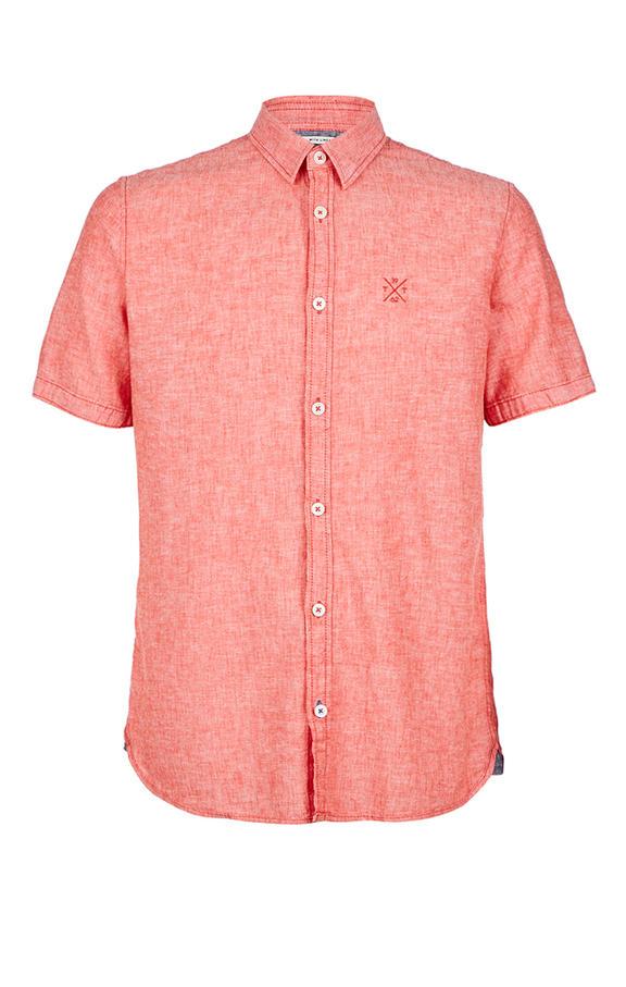 Рубашка Мужская TOM TAILOR красная 46