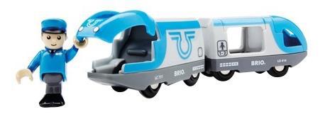 Купить Поезд-экспресс, Пассажирский поезд экспресс с машинистом деревянной железной дороги Brio 33506, Детские железные дороги