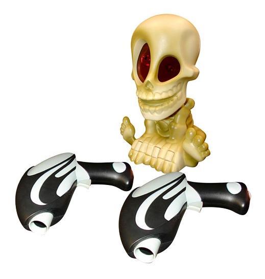 Купить Проектор Джонни, Проектор Johnny the skull 0669-2 с двумя Бластерами, Бластеры