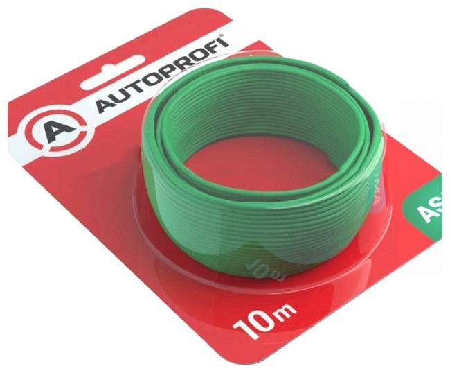 Кабель автомобильный Autoprofi 0.5 мм 0AWG Зеленый