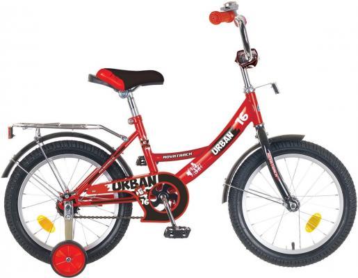 Купить Велосипед Novatrack Urban 14 2016 onesize Urban 14 красный 143URBAN.RD6, Детские двухколесные велосипеды