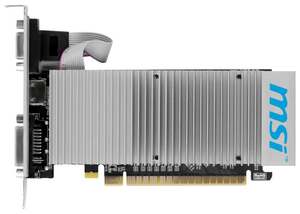 Видеокарта MSI nVidia GeForce 210 (N210 TC1GD3H/LP)