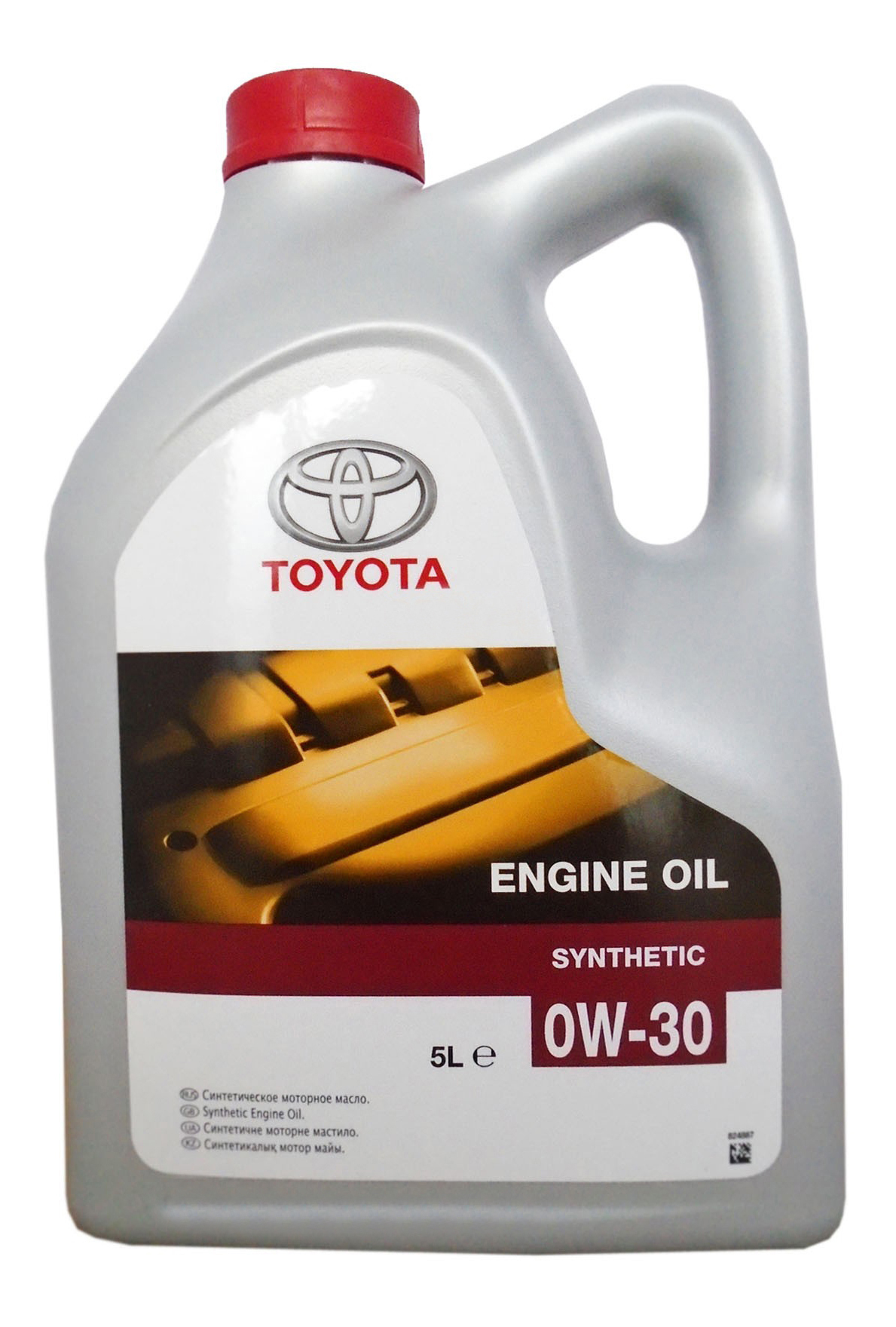 Моторное масло Toyota Engine Oil Synthetic SAE 0W-30 5л