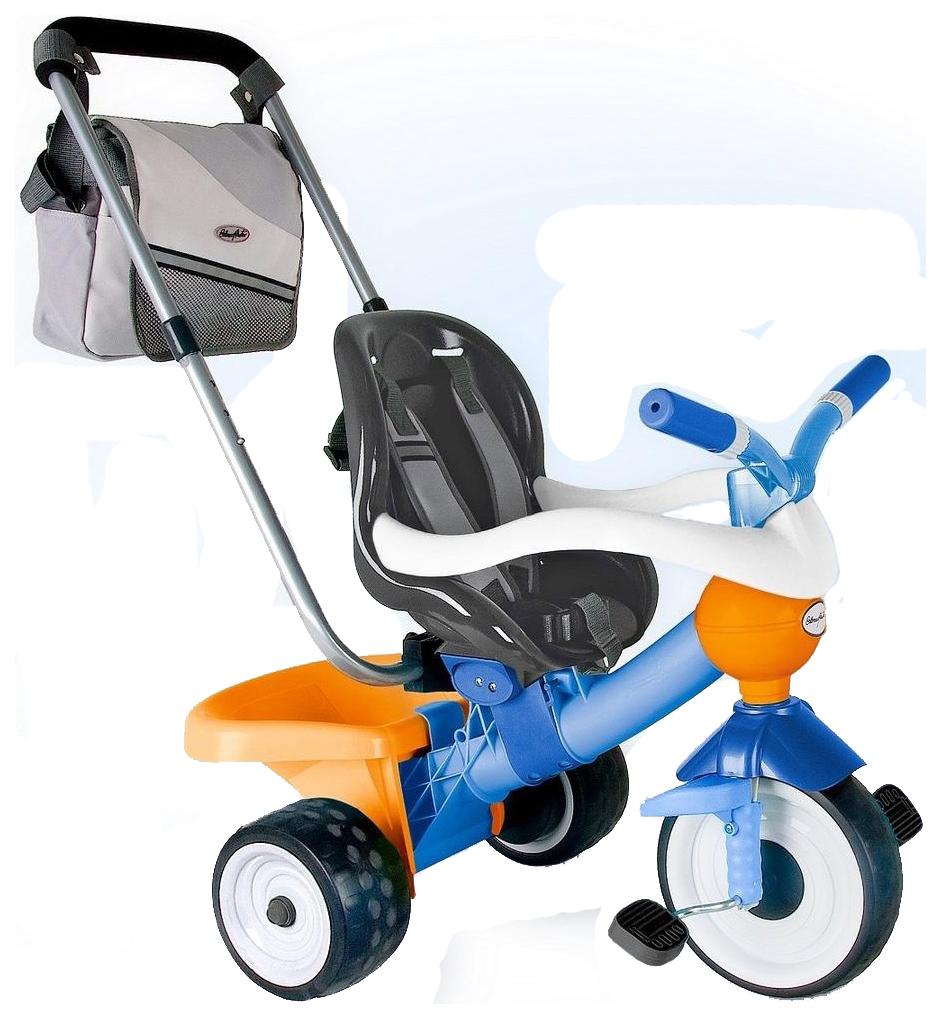 Купить Велосипед трехколесный Coloma Comfort Angel синий/оранжевый (3471), Детские трехколесные велосипеды