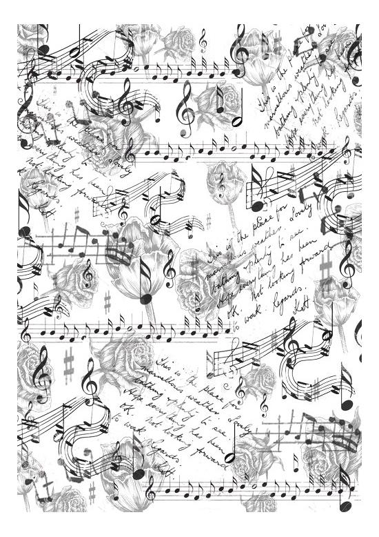 Купить Музыка цветов, Наклейка декоративная для детской комнаты Кустарь Музыка цветов, Рукоделие