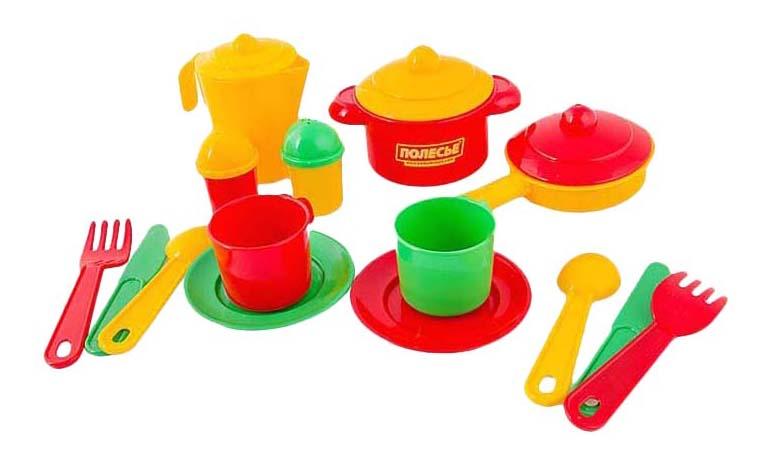 Купить Настенька, Набор посуды игрушечный Полесье Настенька 3902, Игрушечная посуда