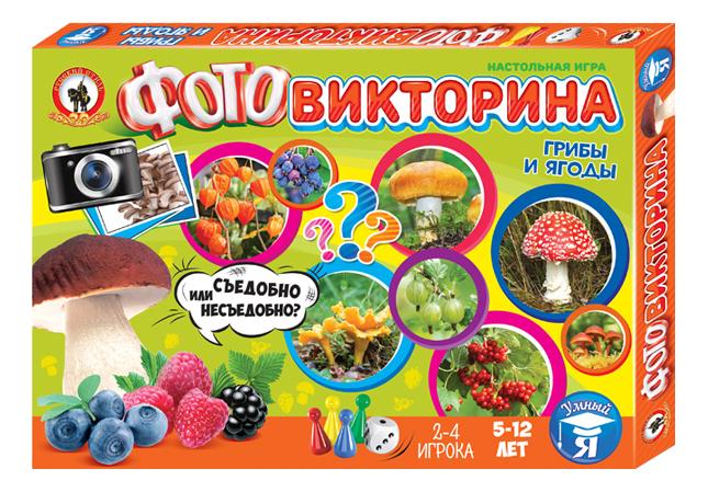 Купить Семейная настольная игра Русский Стиль Грибы и ягоды, Русский стиль, Семейные настольные игры