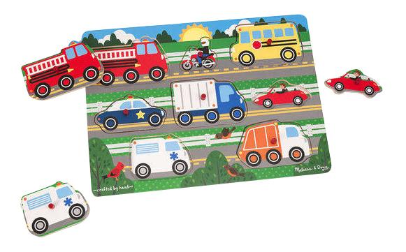 Купить Мои первые пазлы. Транспорт, Пазл Melissa & Doug Мои первые пазлы Транспорт , Пазлы