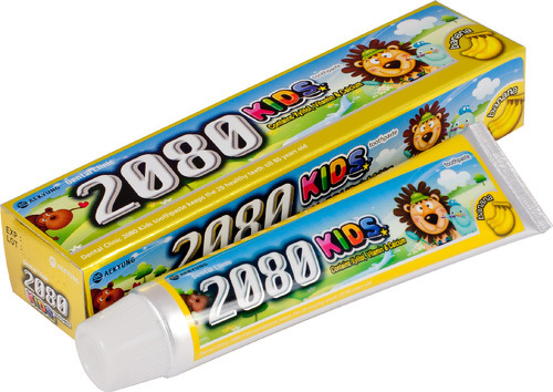 Купить Детская зубная паста DC 2080 Банан, 80 г, Детские зубные пасты