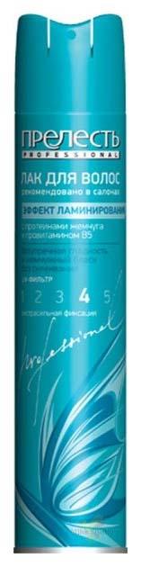 Лак для волос Прелесть Professional Эффект ламинирования 300 мл