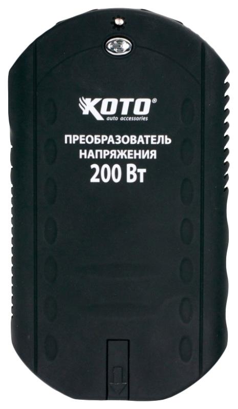 Автомобильный преобразователь напряжения KOTO 12В 220В