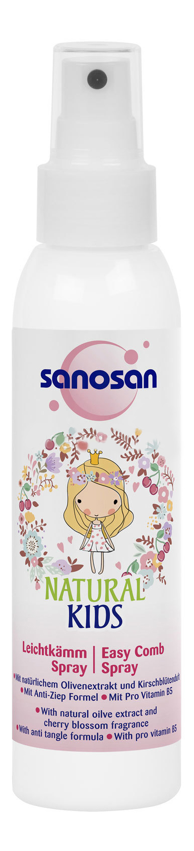 Спрей для волос детский Sanosan Для легкого