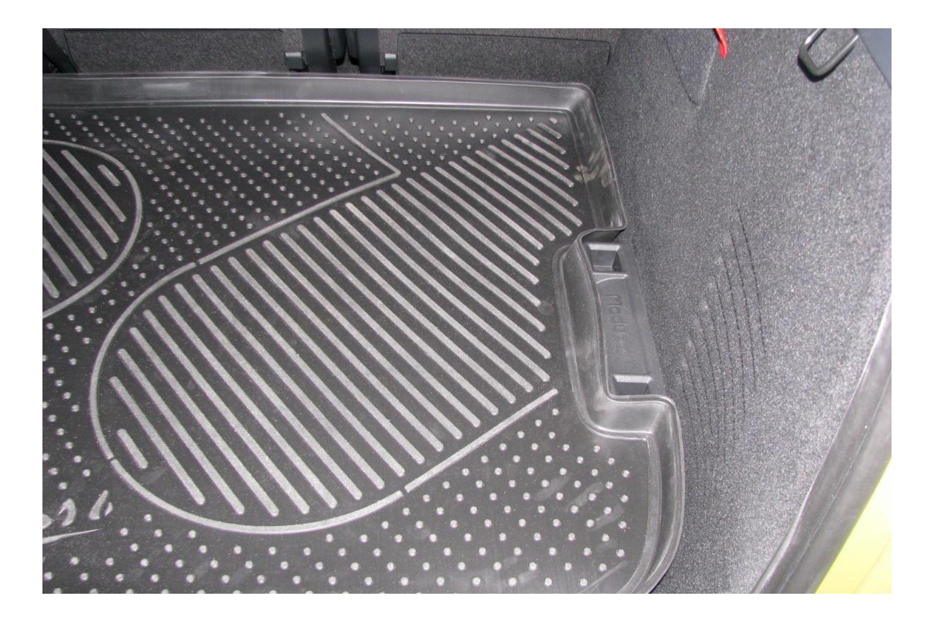 Коврик в багажник автомобиля для Citroen Autofamily (NLC.10.10.B14)