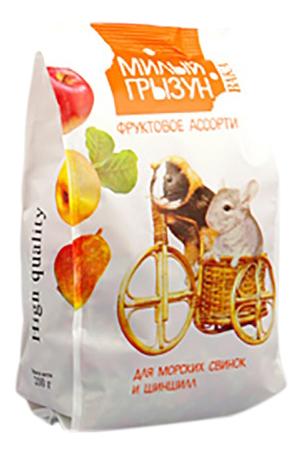Корм для шиншилл Вака Милый грызун, фруктовое ассорти, 0,2 кг