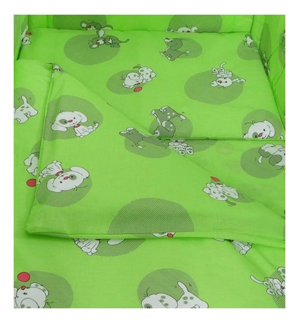 Наволочка на подушку Фея Наши друзья зеленый