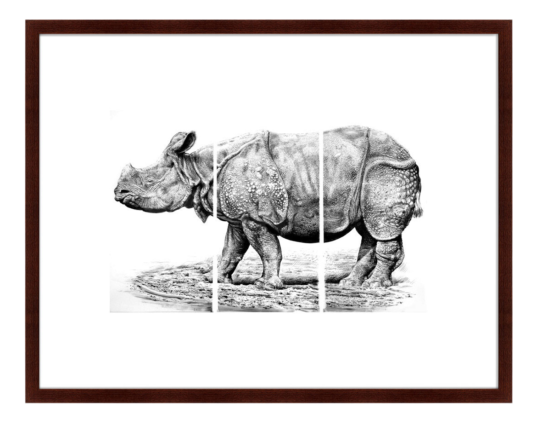 Картина Картины в Квартиру Носорог 79 х 100 см носорог 79 х 100 см по цене 12 999