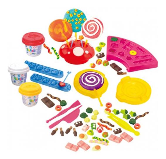 Набор для лепки из пластилина Playgo Сладости
