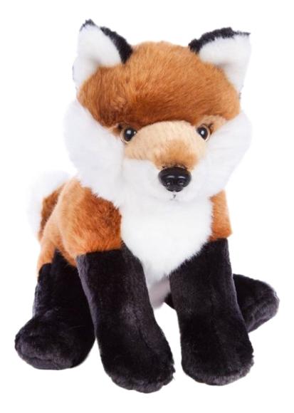 Купить Мягкая игрушка дикое животное 681410, Мягкая игрушка Fluffy Family Лиса 20 см 681410, Мягкие игрушки животные