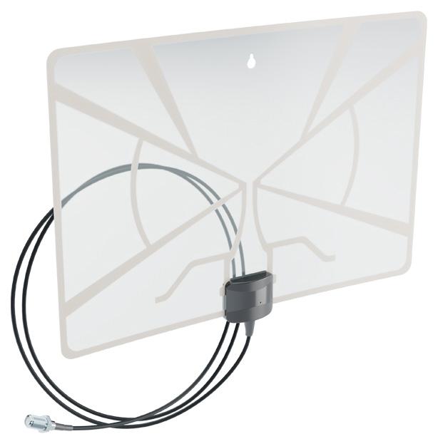 Антенна телевизионная комнатная Рэмо BAS 5324 USB